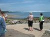 Bus tour, Parrsboro shore